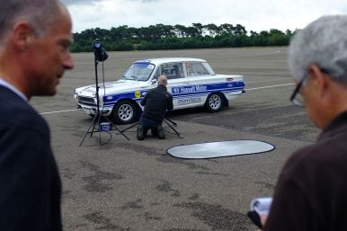 Classic Ford photoshoot