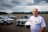 Historic Rally Car test